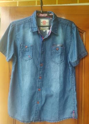 Дуже класна джинсова сорочка