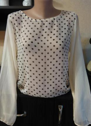 Блуза цвета пудры . рубашка