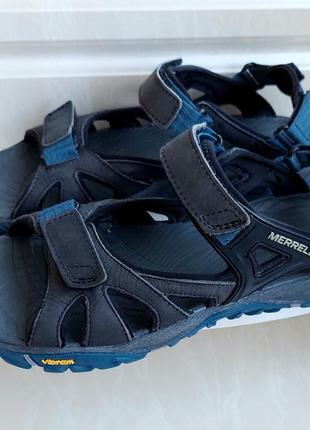Кожаные сандалии merrell, 43 размер.