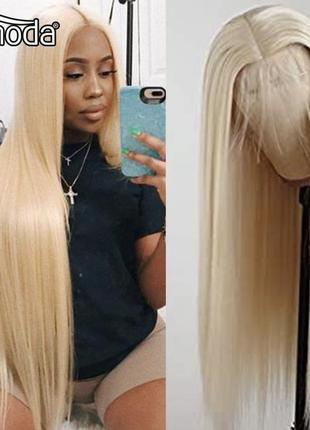 Парик блонд с эффектом натуральных волос