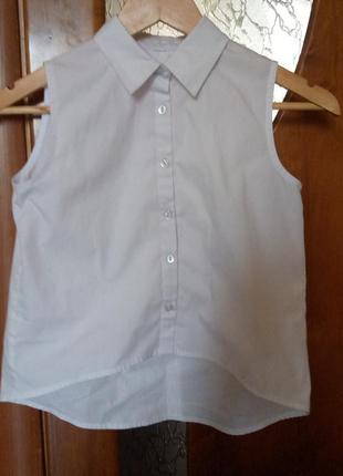 Рубашка без рукава для девочек
