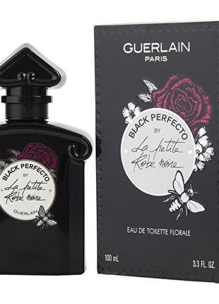 Guerlain black perfecto by la petite robe noire eau de toilette florale, edt, 1 ml, оригинал 100%!!!