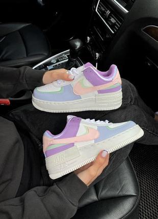 Nike air force shadow candy bonbon шикарные женские кроссовки найк форсе