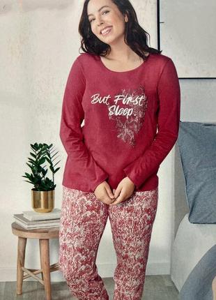 Трикотажная женская пижама (коллекция для полненьких) esmara германия