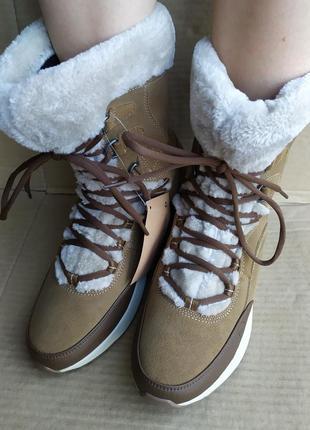 Ботинки hi-tec ritzy 200 wp shoes brown/cream dri-tec ,thinsulate ,оригинал