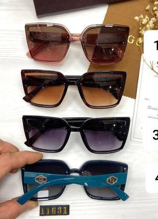 Женские солнцезащитные очки на маленькое на среднее лицо