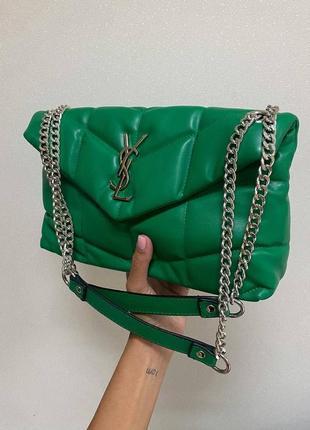 ❤ женская зеленая сумка сумочка ❤
