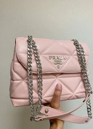 ❤ женская пудровая сумка сумочка ❤