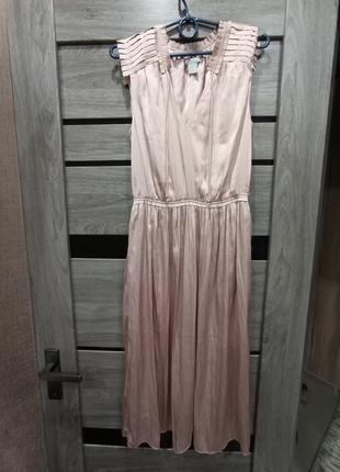 Женское летнее платье, атласное платье