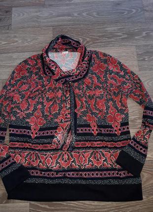 Красивая блуза интересная блуза водолазка большой размер