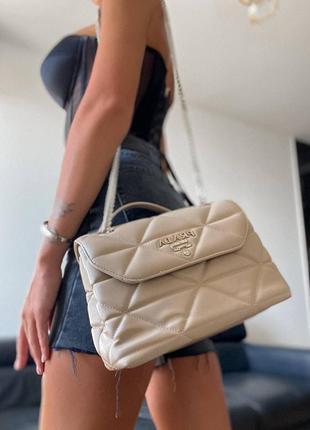 ❤ женская бежевая сумка сумочка ❤