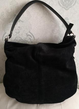 Красивая большая замшевая сумка furla👜👜💣🌷🌹🏵️