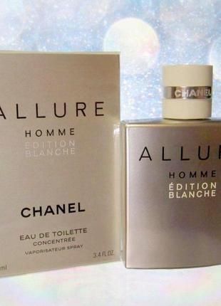 Chanel allure homme edition blanche оригинал_eau de parfum 3 мл затест