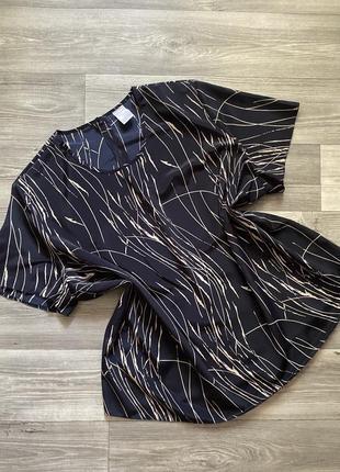 Стильная шифоновая блуза батал ххххл большой размер