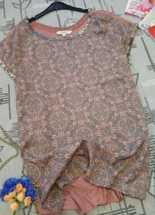 Свободная блуза с украшением, next
