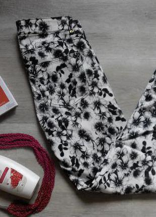 Штаны с цветочным принтом h&m
