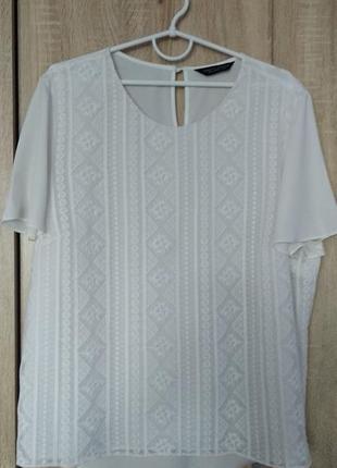 Нарядная блузка блуза футболка размер 56-58