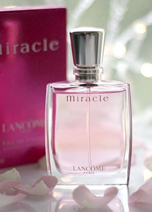 Lancome miracle edp 2000 г винтаж оригинал_eau de parfum 7 мл затест