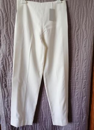 Білі айворі штани кежуали cos оригинал брюки літо