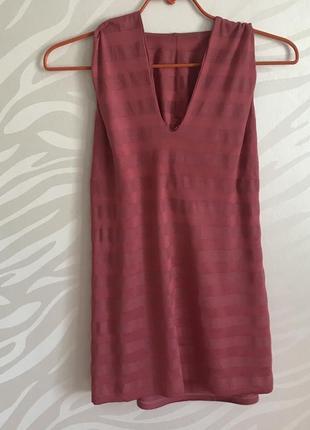 Стильная блуза туника с капюшоном sisley p.m