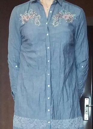 Платье-рубашка.lc waikiki6 фото