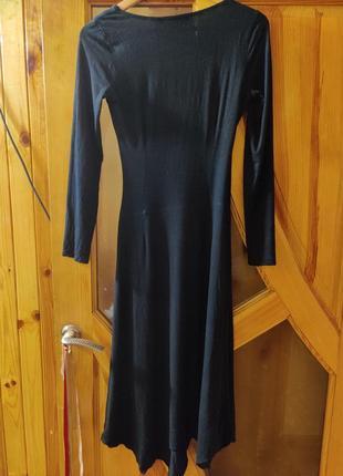 Платье с декольте grazia