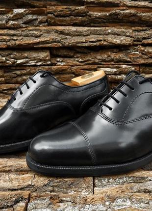 Оксфорды clarks новые 42 42.5 размер туфли мужские нові
