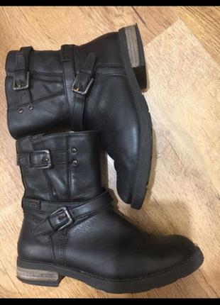 Демисезонные ботинки geox на девочку