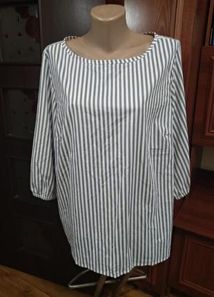 Блузка большой размер