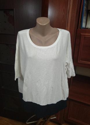 Блузка ,футболка оверсайз 100% котон