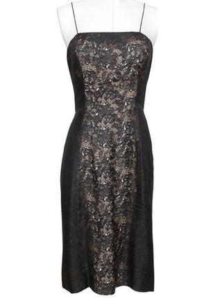 Великолепное платье из шёлка от бренда prada