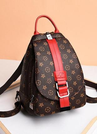 Женский городской мини рюкзак сумка 2в1/женский прогулочный рюкзак.