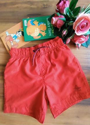 Модные яркие пляжные шорты primark на 4-5 лет.