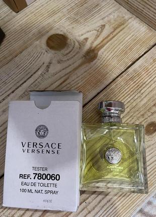 Versace versense 100 ml тестер