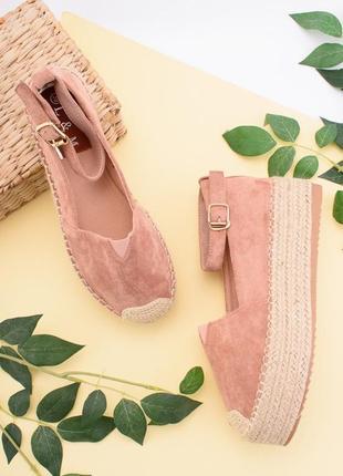 Стильные бежевые босоножки туфли балетки