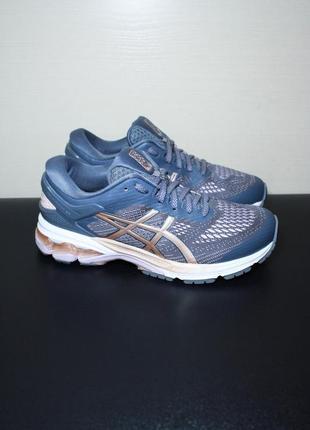 Оригинал asics gel-kayano 26 2020 женские кроссовки беговые для бега