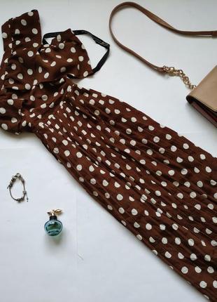 Шикарне плаття міді плісе