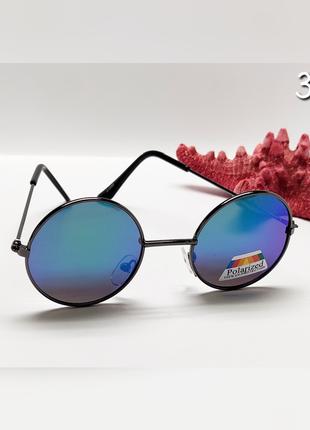 Стильні дитячі окуляри кругляши поляризаційні