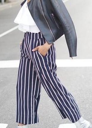 Трендовые брюки кюлоты колоты