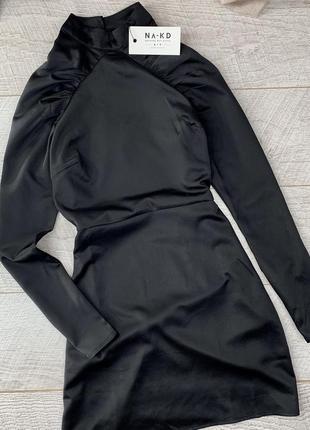 Сатиновая сукня