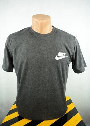Мужская футболка серая nike