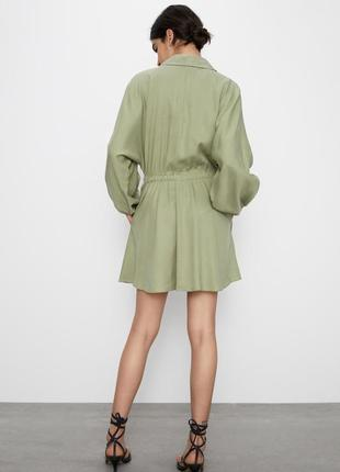 Zara платье на пуговицах2 фото
