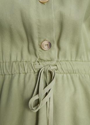 Zara платье на пуговицах4 фото