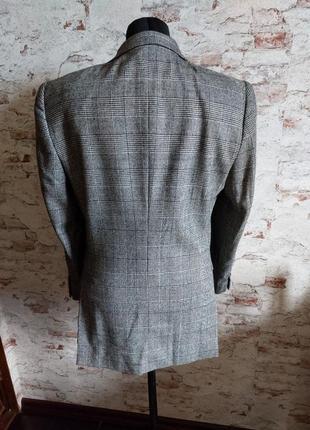 Пиджак гусиная лапка шерстяной теплый3 фото