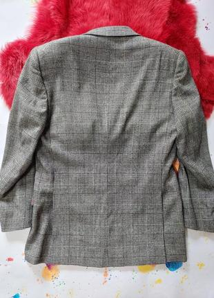 Пиджак гусиная лапка шерстяной теплый5 фото