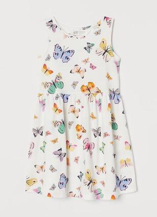 Котонове плаття h&m сарафан платье