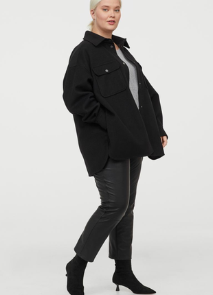 Рубашка куртка пальто h&m,