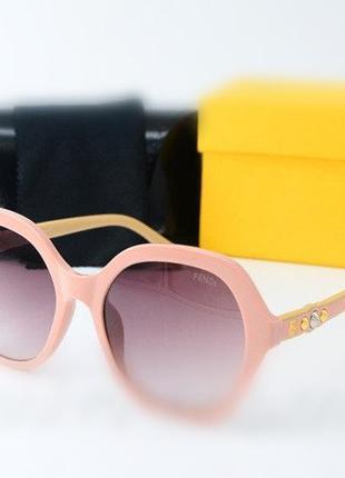Женские модные солнцезащитные розовые очки 2021