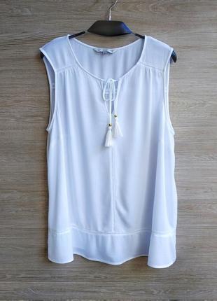 Натуральная блуза f&f.