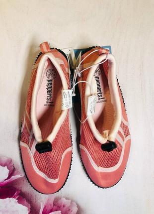 Тапочки для кораллов розового цвета, аквашузы, обувь для плавания, дайвинга 33,34р2 фото